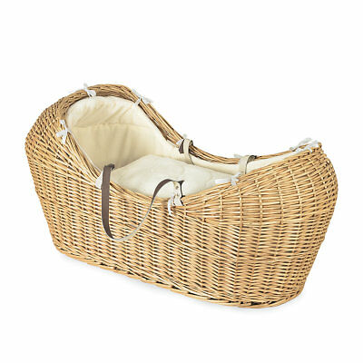 Mothercare Wicker Snug Moses Basket- Wicker