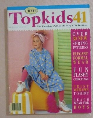Topkids No. 41 - Sewing Magazine Of Kids Fashion - Uncut Patterns Included