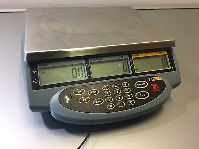 Ohaus EC EC15 Series Digital Counting Scale - 15000 g x 0.5 g 30 lb x 0.001 lb