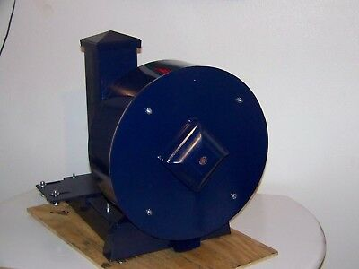 "16"" PORTABLE ROCK/GLASS CRUSHER, electric motor 9 HAMMERS, 4"" FEED TUBE"