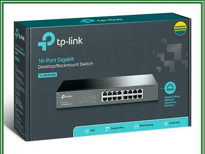 TP-LINK TL-SG1016D 16 Port Gigabit Ethernet Network Desktop Switch Unmanaged
