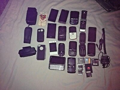 Lot Of Cell Phones Battery's & Cases