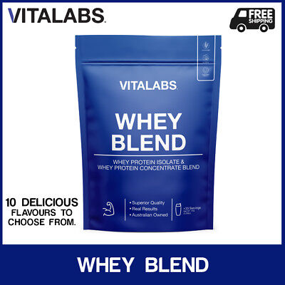 1KG WHEY PROTEIN POWDER WPC/WPI 100% PURE - 10 flavours to choose from