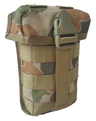 Auscam Multi Use Molle Padded Pouch Heavy Duty 900D Double Pu Coated - Tas