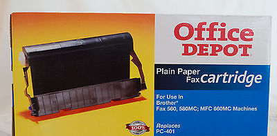 Brother PC-401 Intelli Fax Cartridge NIB Factory Sealed Office Depot opens in