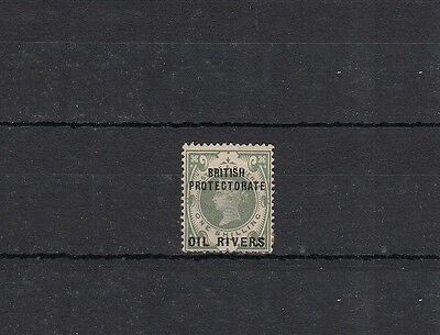 1892 Oil Rivers Protectorate Stamps | SG# 6 | MH | QV | Cat £70
