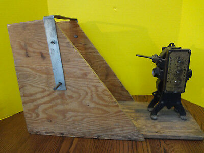 Vintage JOHN J. WALDMAN Improved Wire Measuring Machine STEAMPUNK ~ FAST S/H~