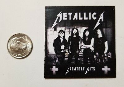 Miniature record 1/6  Playscale  Metallica Greatest Hits Action Figure Album