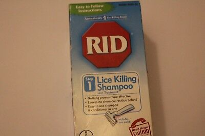RID Lice Killing Shampoo Step 1 Expiration: 10/18