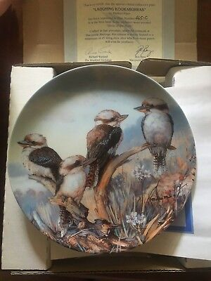 Make An Offer!!  Bradford Exchange - Laughing Kookaburras  - Collectors Plate