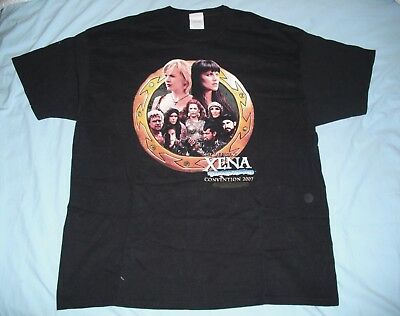 OFFICIAL XENA T-SHIRT! Cast of 2007 Convention! Size XXL.  NEW!