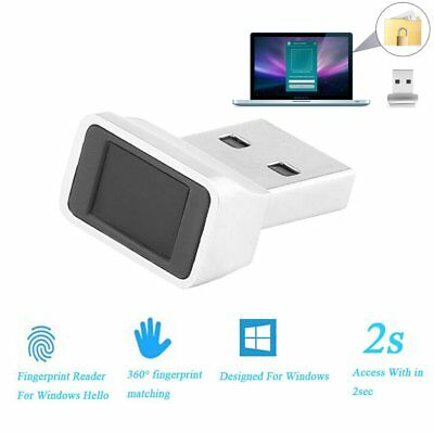 Smart ID USB Fingerprint Sensor Dongle Reader Security Key for Windows 10 CA