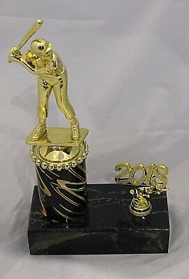 Male Baseball Catcher Figurine Trophy 230mm with Year Engraved FREE