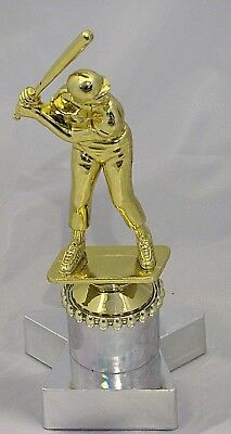 Male Baseball Batter Figurine Trophy 185mm Engraved FREE