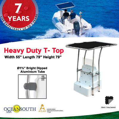 BOAT T-TOP 55''- 79'' Retractable Height - $209 99 | PicClick