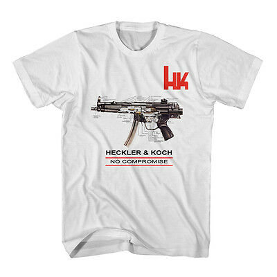 HK Heckler and Koch Firearms Sniper T-Shirt size S-3XL