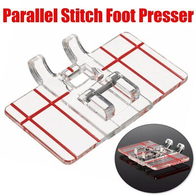 Parallel Stitch Foot Presser for Home Brother Domestic Sewing Machine Feet AU