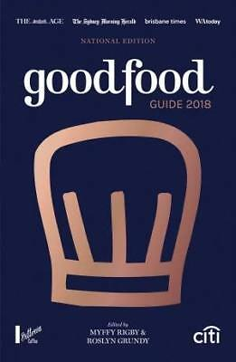 Good Food Guide 2018 Free Express Shipping