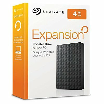 Seagate Expansion 4TB USB 3.0 Portable External Hard Drive HDD - FAST FREE POST