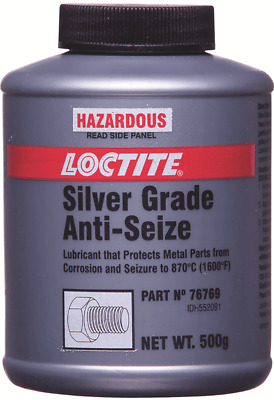 Loctite SILVER GRADE ANTI-SEIZE COMPOUND 500g Allows Easy Dismantling *USA Brand
