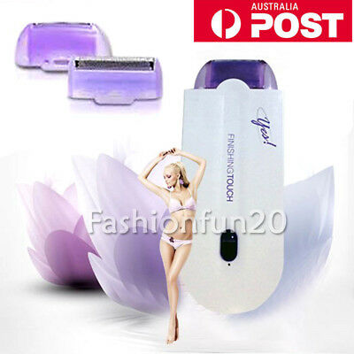 Instant & Pain Free Finishing Touch Hair Removal Women Laser Remover Body Face W