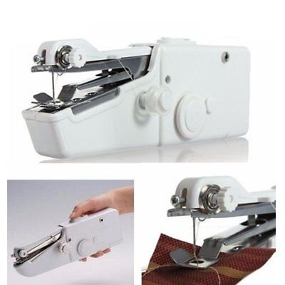 Mini Singer Stitch Portable Cordles Electric Handheld Sewing Machine Home kit