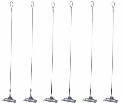 Pack of 6 - Duckbill Earth Anchor - Medium Earth Anchors - 68-DB1