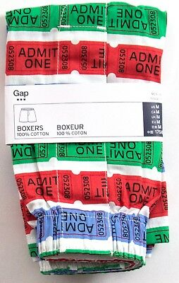 NIP Mens GAP Boxers 100% Cotton Ticket Choose Size - 792605
