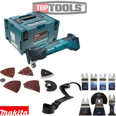 Makita DTM51ZJX7 18v Multi Tool in Makpac Case With Extra 8 Piece Accessory Set