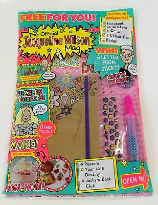 The Official Jacqueline Wilson Mag Magazine #132 - AMAZING FREE GIFTS! (NEW)