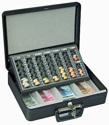 Cash Drawer Safe Box  Bill Coin Tray  Store Money Lock Storage us