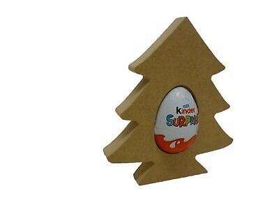 Free Standing rudolf reindeer Shape Kinder Egg holder christmas xmas craft shape