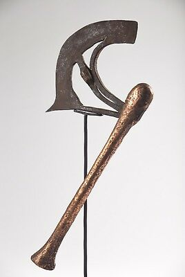 Hache Nsapo - Songye - R. D. Congo - African Tribal Art Africain