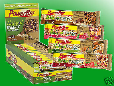 (23,96€/kg)   Powerbar Natural Energy Bar - 24 Riegel a 40g   *MHD 06/18*
