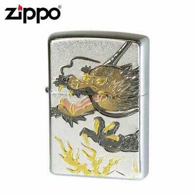 Zippo Japanese Dragon Head Electroforming Beautiful Japan Limited Collection F/S
