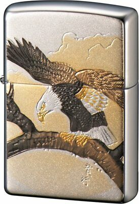 Zippo Japanese Hawk Electroforming Cool Japan Limited Collection Oil Lighter New