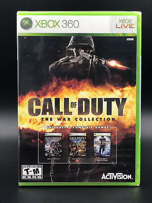 Call of Duty: The War Collection (Microsoft Xbox 360) BRAND NEW - FACTORY SEALED
