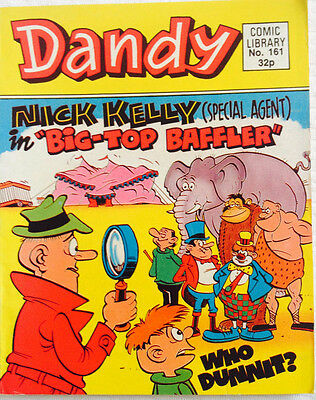Dandy Comic Library 161 Nick Kelly (Special Agent) in Big Top Baffler
