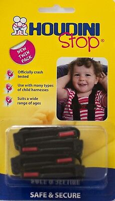 Houdini Stop Chest Clip Twin Pack