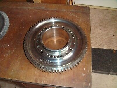Turbine disc from Jet Engine