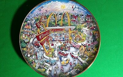 McDonalds Golden Moments Limited Edition Plate.. By Bill Bell