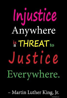 Justice Everywhere - Martin Luther King, Jr. - Mini Print African American Art
