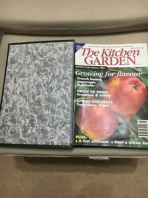 Kitchen garden magazines-1999 -(Complete year )  INCLUDING BINDER