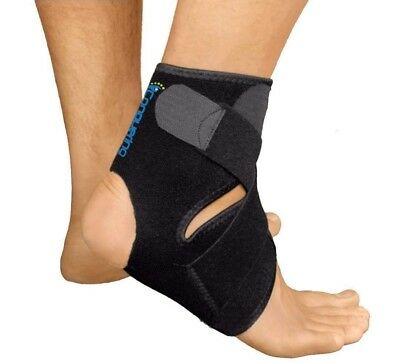 Conquering Adjustable Ankle support, Compression Strap breathable Brace recovery
