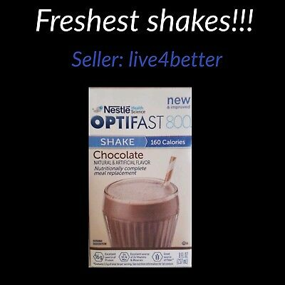 New FORMULA OPTIFAST 800 CHOCOLATE READY DRINK SHAKES| 27 SERVINGS PER CASE