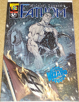 Michael Turner's Fathom Vol.1 #1/2 DF Blue Foil with low COA TWO!(2) out of 999