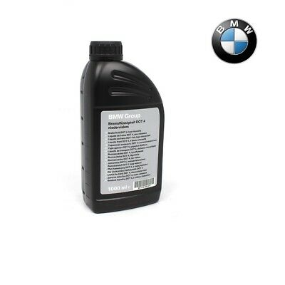 ORIGINALE 1 LITRO BMW LIQUIDO FRENI DOT4 IV niederviskos 1000ml 83132405977