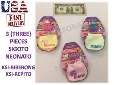 Ksi-Merito Ksi Merito 3 Milk Bottle & Bib Mexican Toy 100% Distroller Accesories