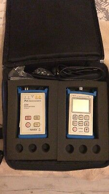 AFL Noyes SMLP 5-5 OPM5-2D And OLS4 SM/MM Fiber Optic Test Kit