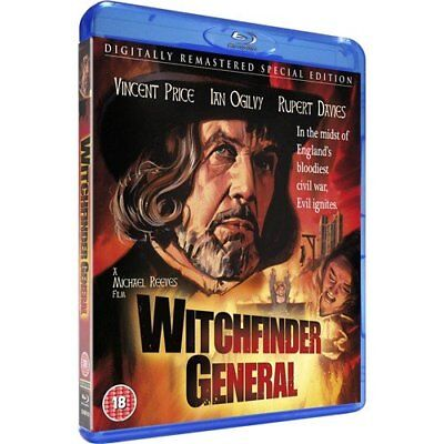 Witchfinder General (1968) Blu-Ray BRAND NEW Free Ship - USA Compatible